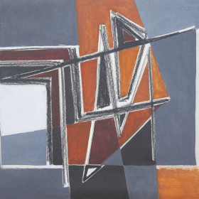 In search of style (60s abstractions) Oil 1960s X8