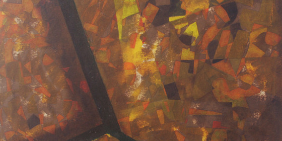 80s abstraction Oil 1988 6