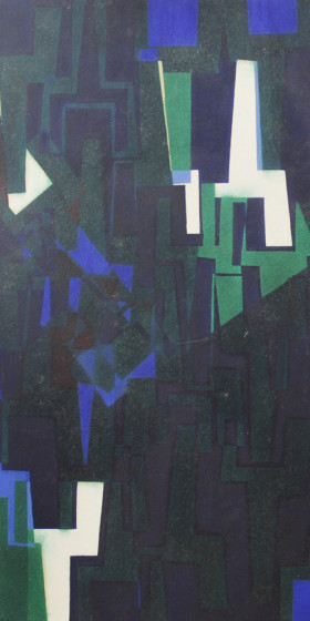 80s abstraction Oil 1989 6