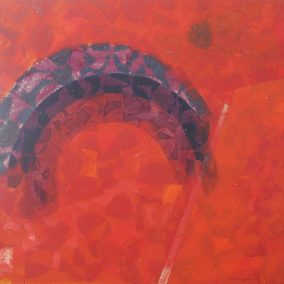 80s abstraction Oil 1989 16