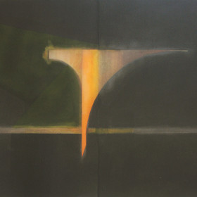 mature abstraction Oil 1972 52