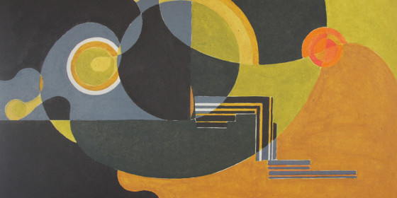 In search of style (60s Abstraction) Oil 1960s x9