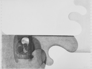 abstract graphic art Drawing 1975 x59